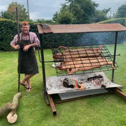 Outdoor catering The Salt Pig