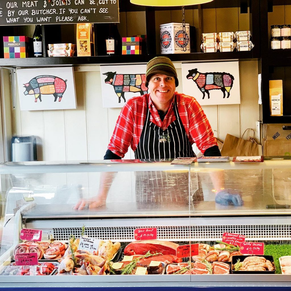 in-house bucthery and fish counter the salt pig
