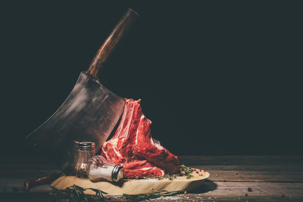 salt pig pork meat box